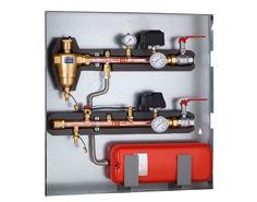 Collettore Portastrumenti Ed Accessori Per Pompe Di Calore Per Uso Geotermico