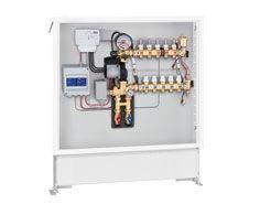 Gruppo Di Regolazione Termica Modulante Preassemblato In Cassetta Con Regolatore Digitale Per Riscaldamento E Raffrescamento