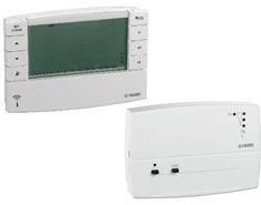 Kit Cronotermostato Onde Radio + Ricevitore A Parete 1 Canale – 868 MHz